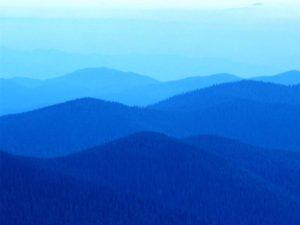Colline azzurre